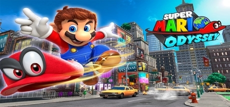 Super Mario Odyssey Banner