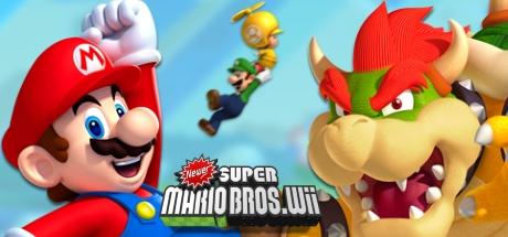 New Super Mario Bros. Wii Banner
