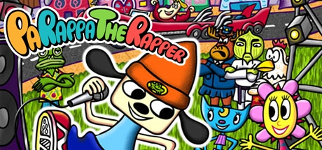 PaRappa the Rapper Banner