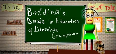 Baldina's Basis in Education Literary Grammar Banner