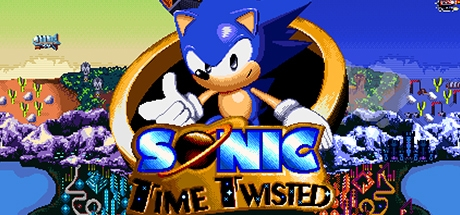 Sonic Time Twisted Banner