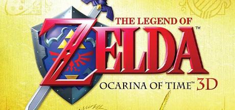 The Legend of Zelda: Ocarina of Time 3D Banner