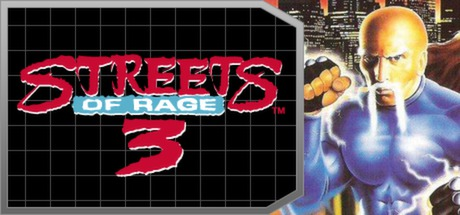 Streets of Rage 3 Banner