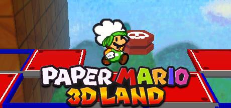 Paper Mario 3D Land Banner