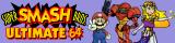 Super Smash Bros. Ultimate 64 banner