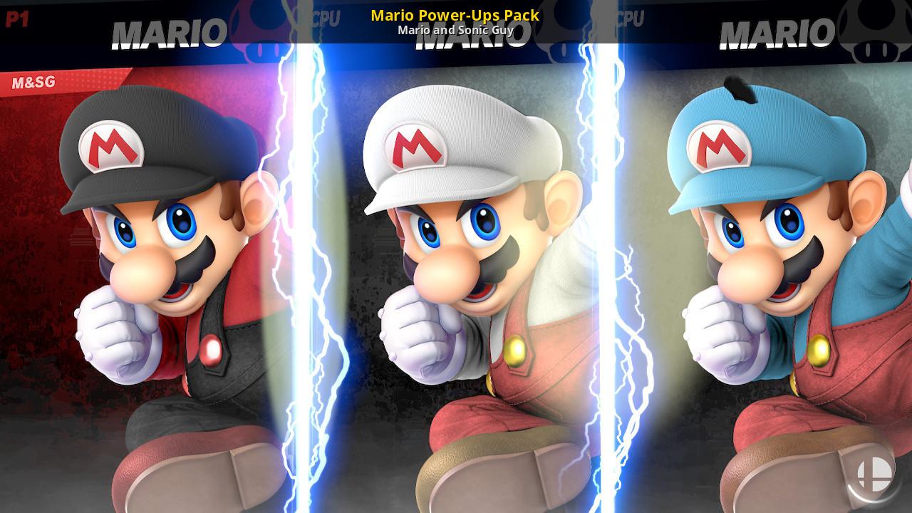 Mario Power Ups Pack Super Smash Bros Ultimate Mods
