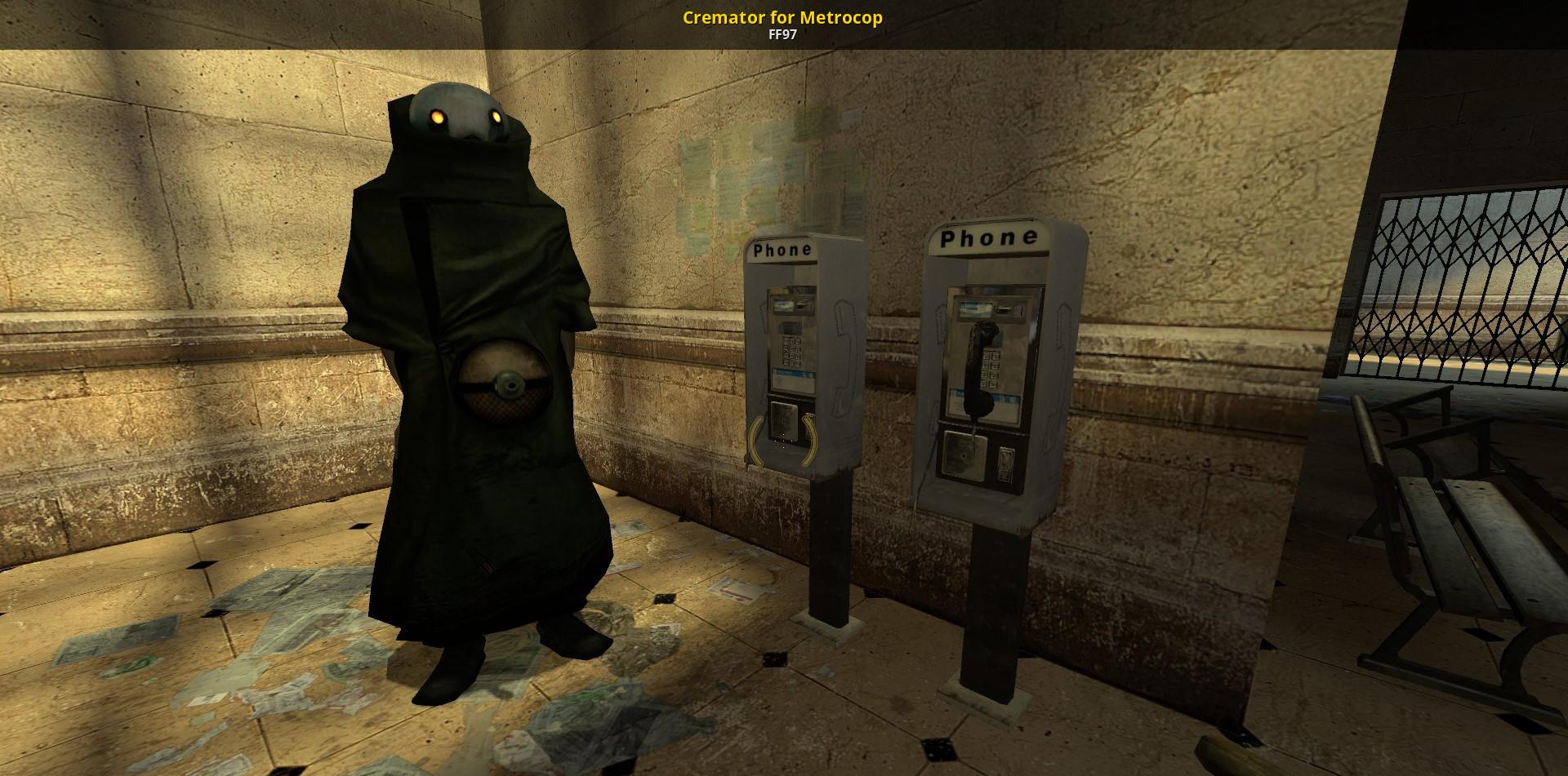Half Life Cremator