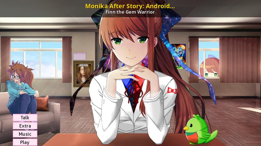 Monika After Story: Android 21 Lab Coat [Doki Doki Literature Club] [Mods]