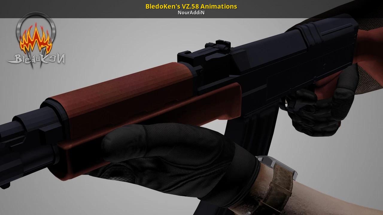 BledoKen's VZ 58 Animations [3D Models]