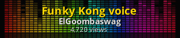 Funky Kong voice | Super Smash Bros. (Wii U) Sound Mods