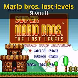 Mario Bros Lost Levels Gamebanana Sprays