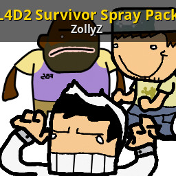 L4d2 Survivor Spray Pack Left 4 Dead 2 Sprays