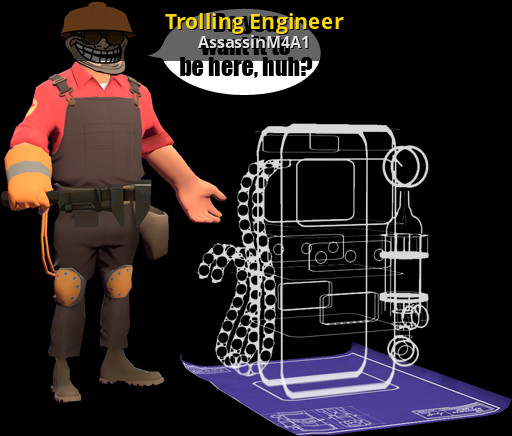 Trolling Engineer Team Fortress 2 Gt Sprays Gt Game