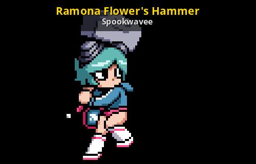 Ramona Flowers Roblox Ramona Flower S Hammer Team Fortress 2 Sprays