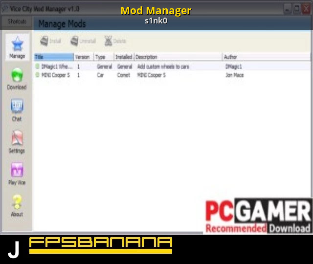 The gta place gtagarage mod manager 2. 3c.