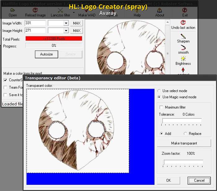 HL: Logo Creator (spray) [Counter-Strike 1 6] [Modding Tools]