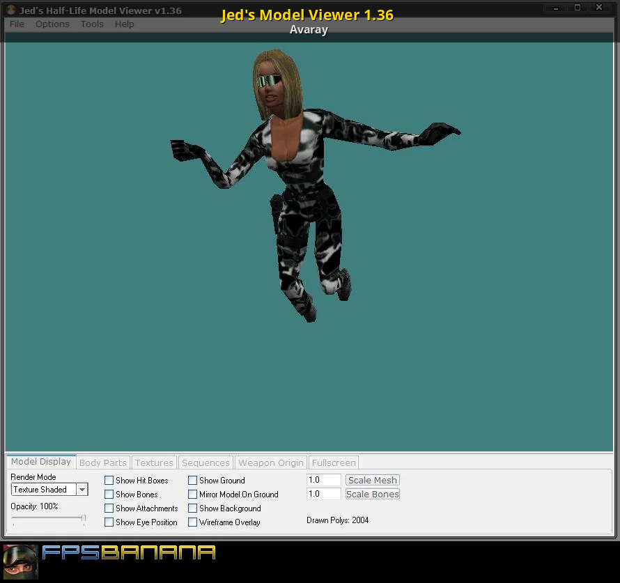 Jed's Model Viewer 1 36 [Counter-Strike 1 6] [Modding Tools]