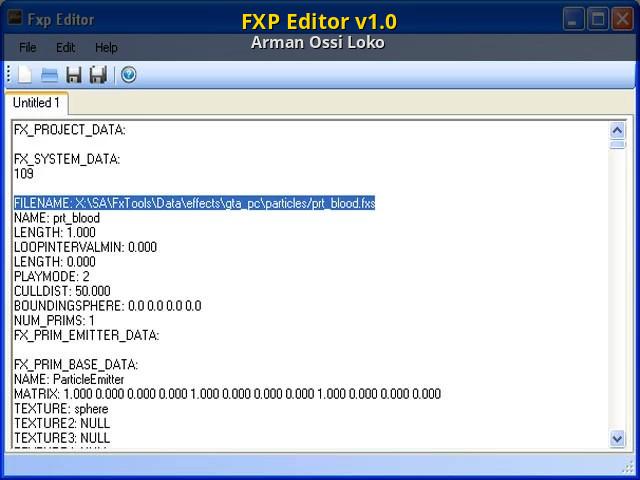 Txd file editor