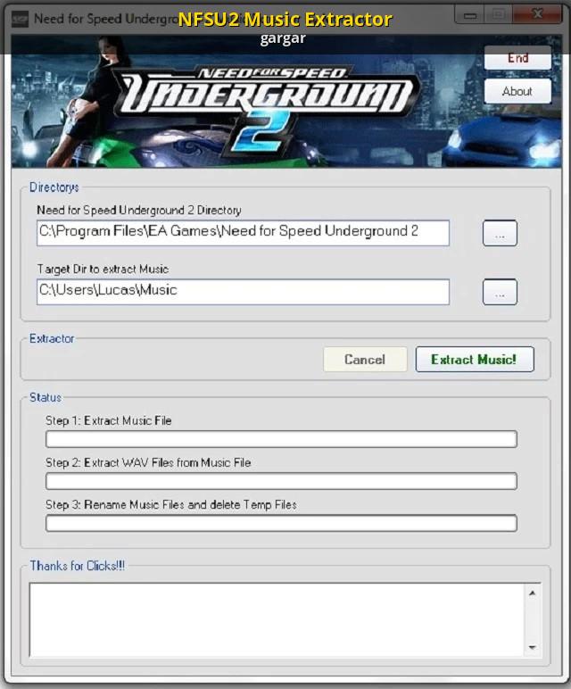 Nfsu2 Music Extractor Need For Speed Underground 2