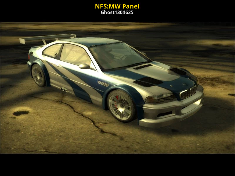 Nfs Mw Panel Need For Speed Most Wanted 2005 Modding Tools