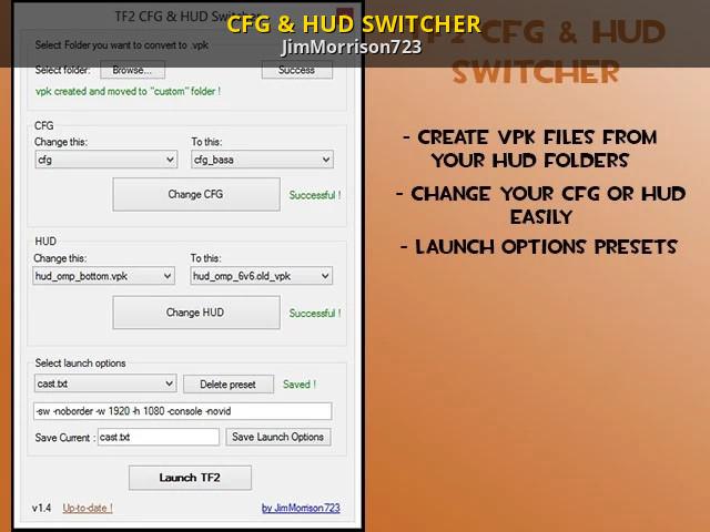Cfg options
