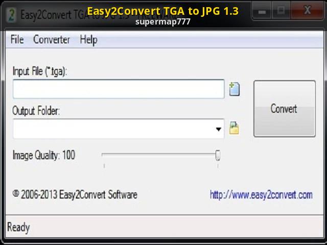 convert jpg to tga