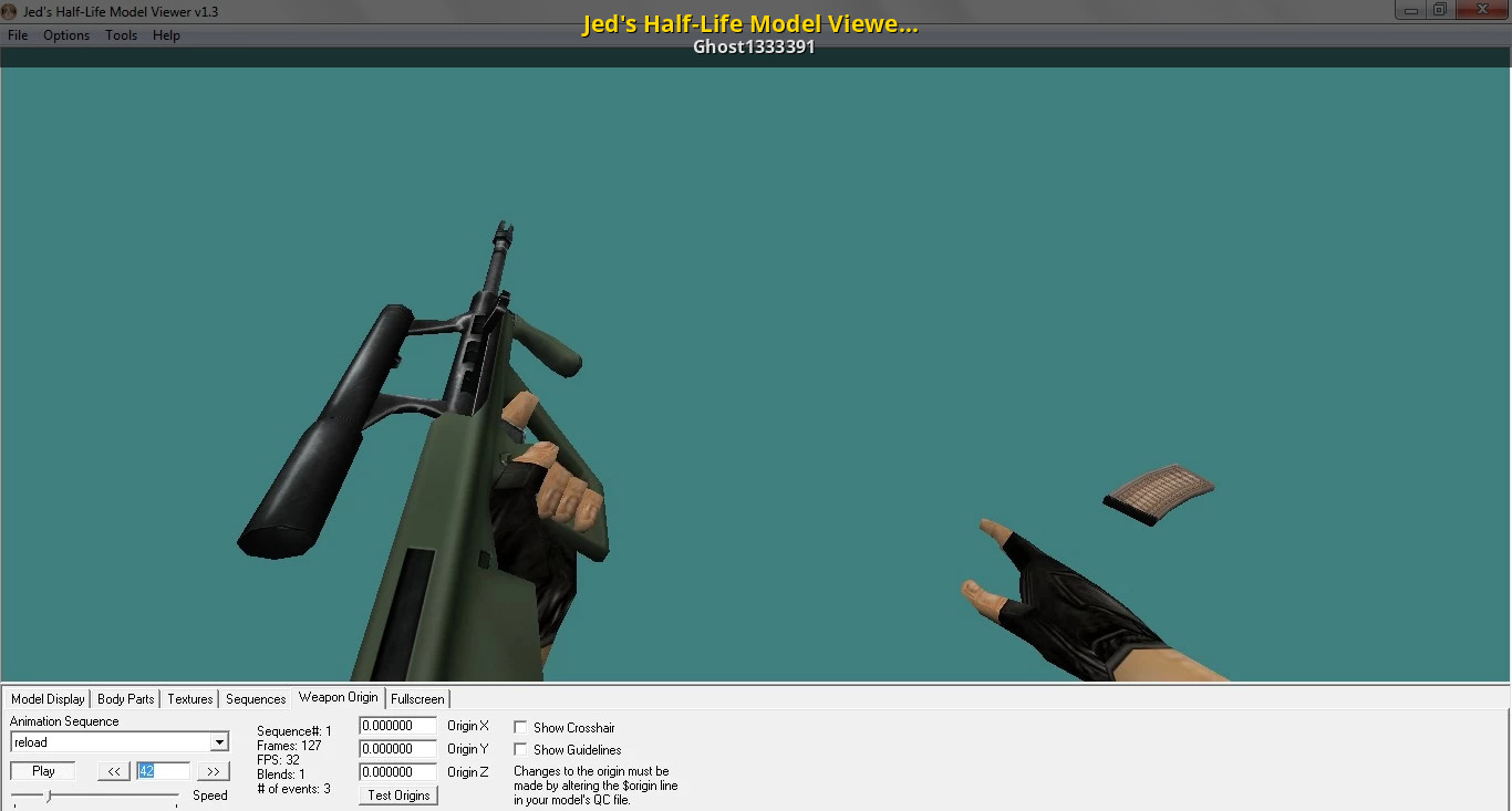 Jed's half-life model viewer ak47 for cs 1. 6 (download link) youtube.