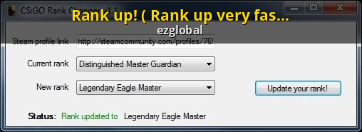 rank up rank up very fast counter strike global offensive