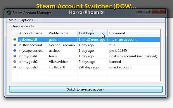 Steam Account Name