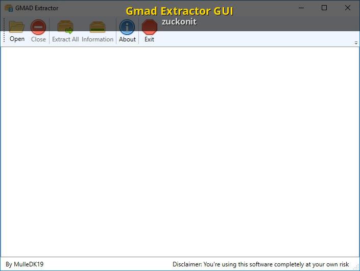 Gmad Extractor GUI [Garry's Mod] [Modding Tools]