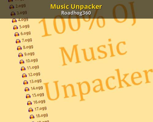 Music Unpacker [100% Orange Juice] [Modding Tools]