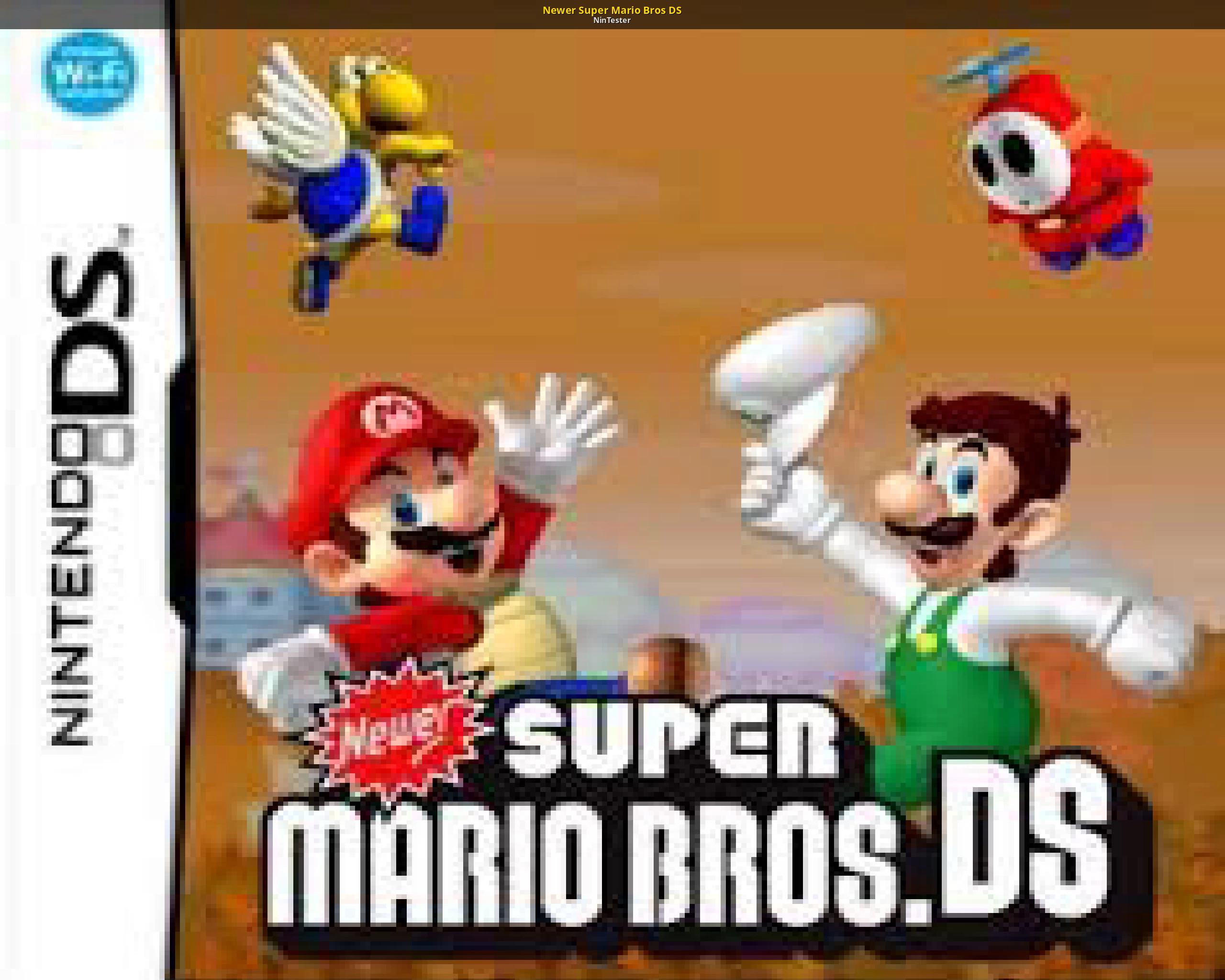 Newer Super Mario Bros DS [New Super Mario Bros  DS