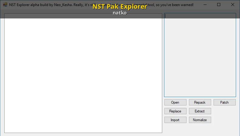 NST Pak Explorer [Crash Bandicoot N  Sane Trilogy] [Modding Tools]