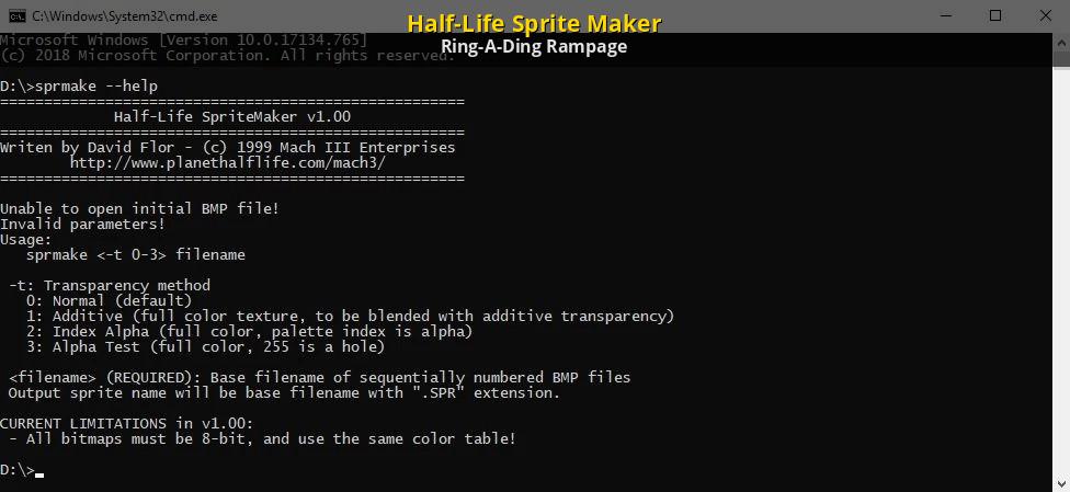 Half-Life Sprite Maker [Counter-Strike 1 6] [Modding Tools]