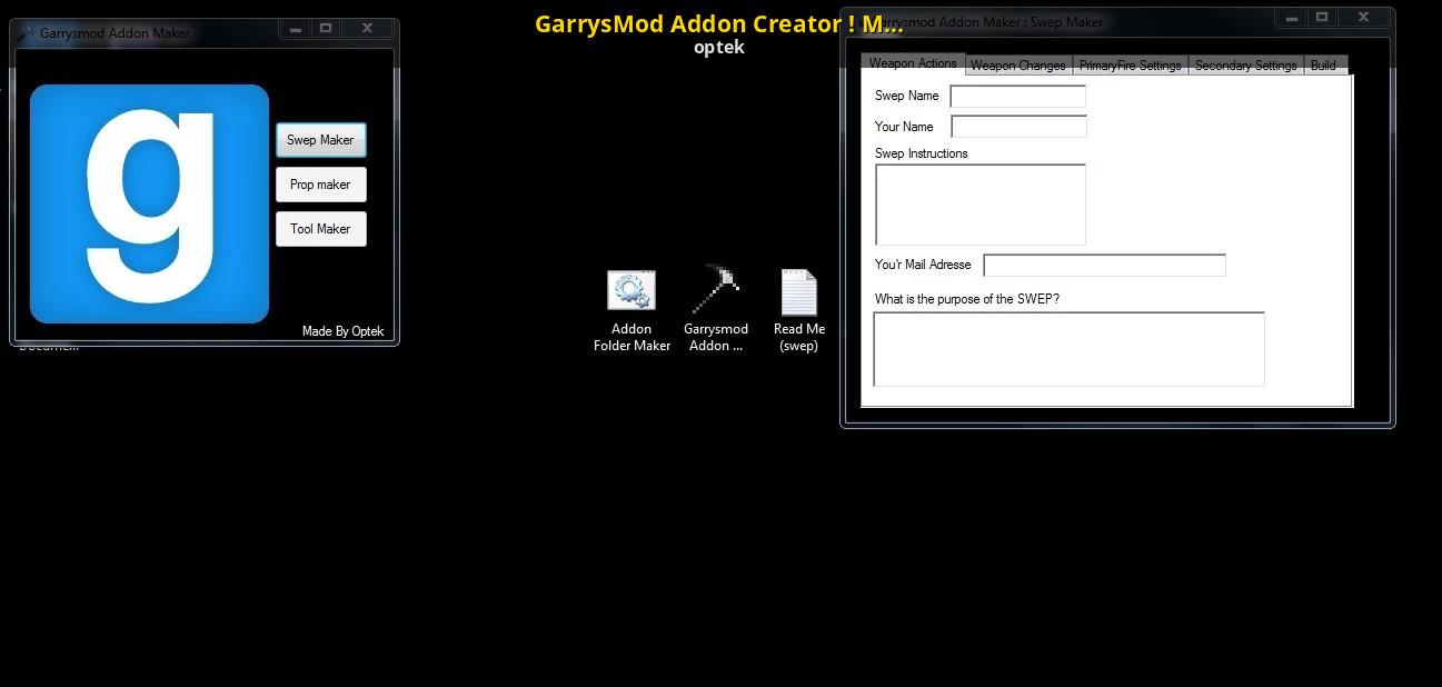 Gmod Model Maker