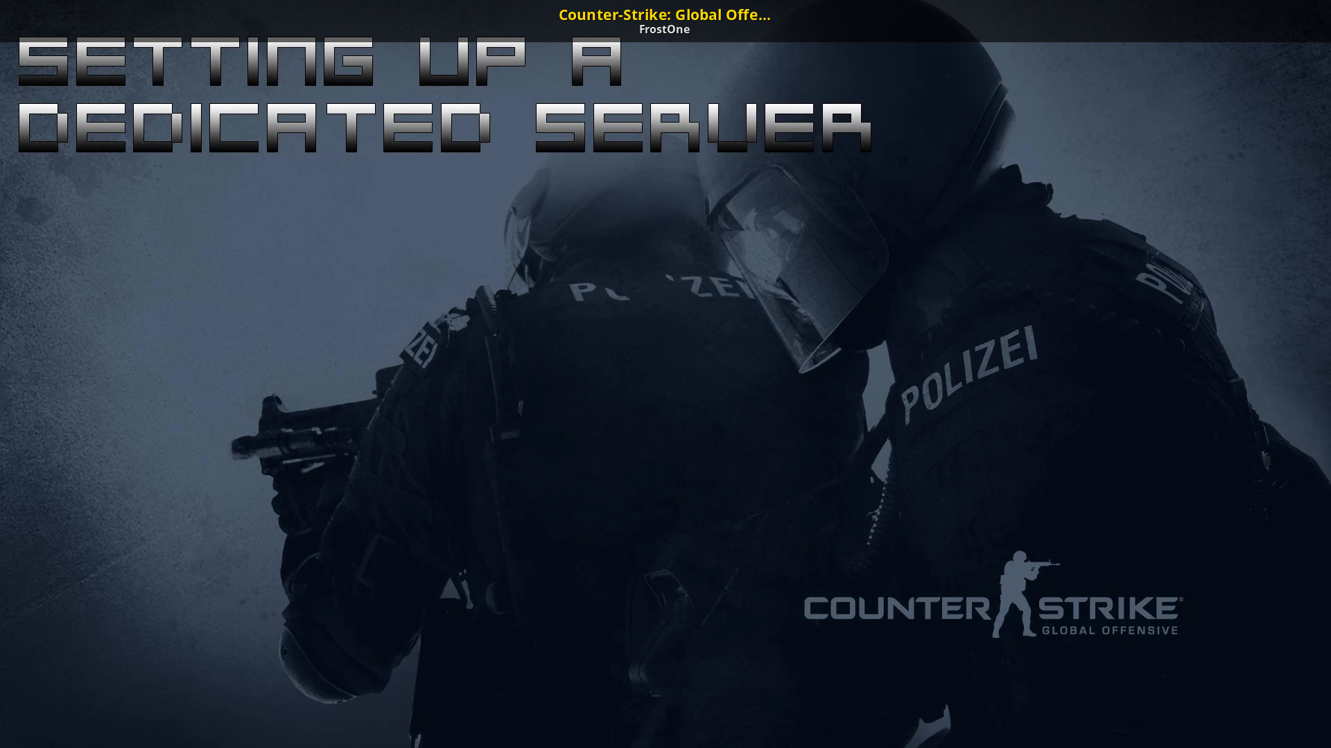 Srcds cs go server