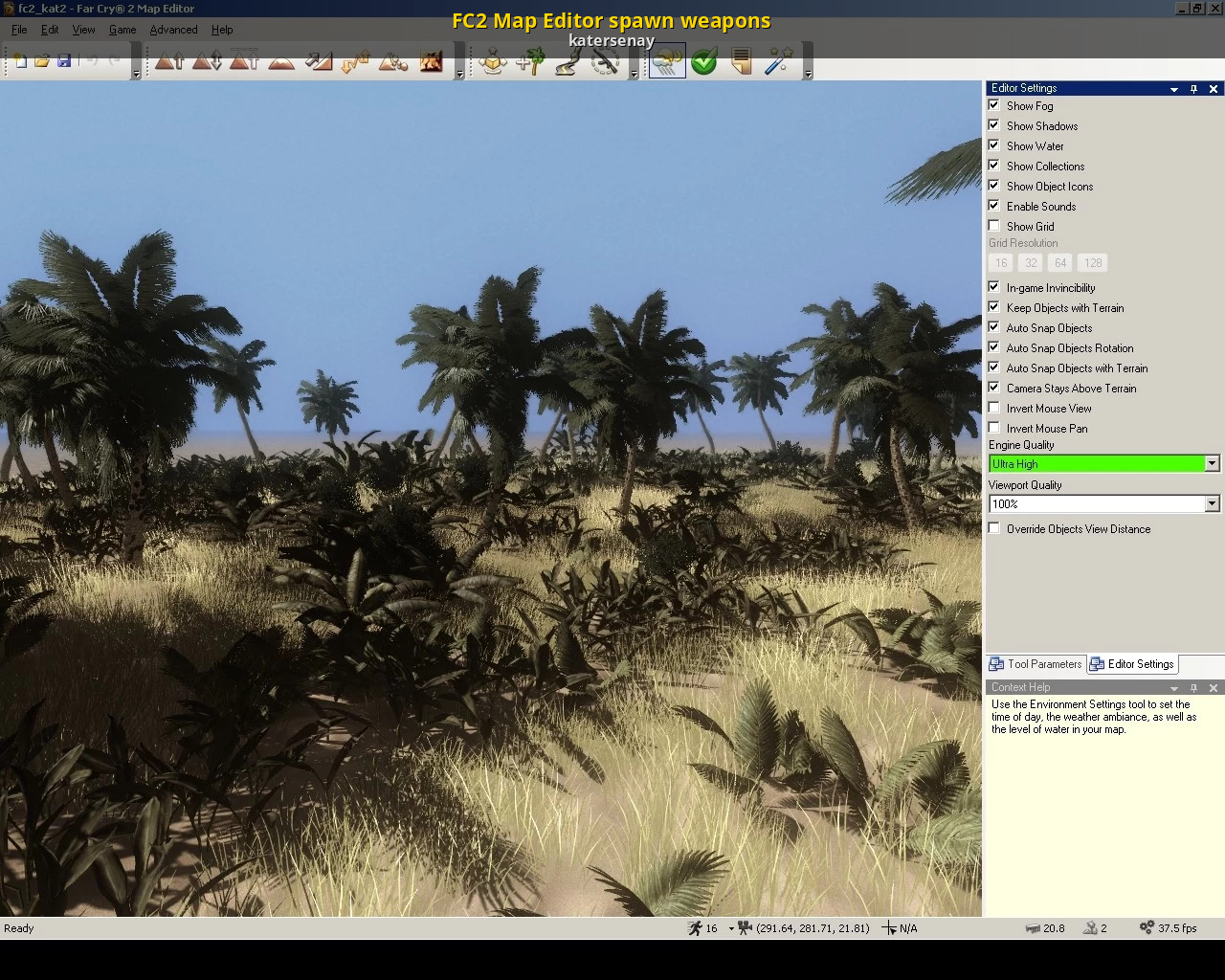 Fc2 Map Editor Spawn Weapons Far Cry 2 Tutorials