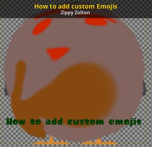 how to add custom emojis to iphone