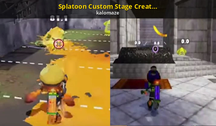 splatoon custom stage creation tutorial splatoon tutorials