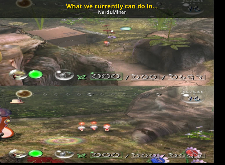 What We Currently Can Do In Pikmin 1 Pikmin Tutorials