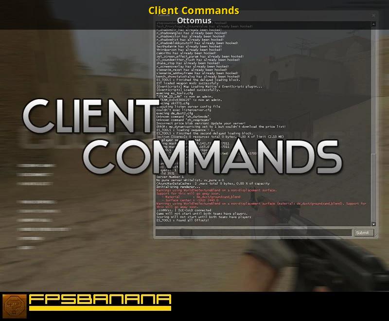 Client Commands Counter Strike Source Gt Tutorials