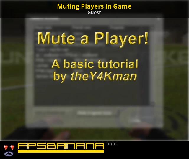 Mute command discord