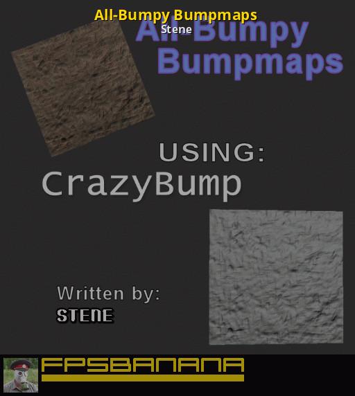 All-Bumpy Bumpmaps [Counter-Strike: Source] [Tutorials]