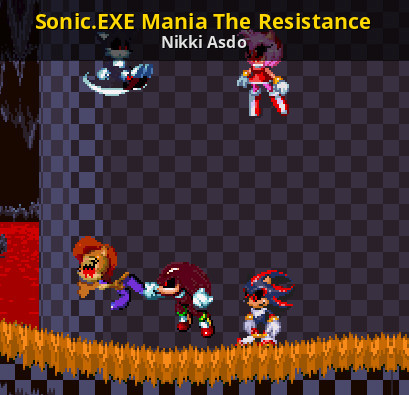 Sonic EXE Mania The Resistance [Sonic Mania] [Works In Progress]