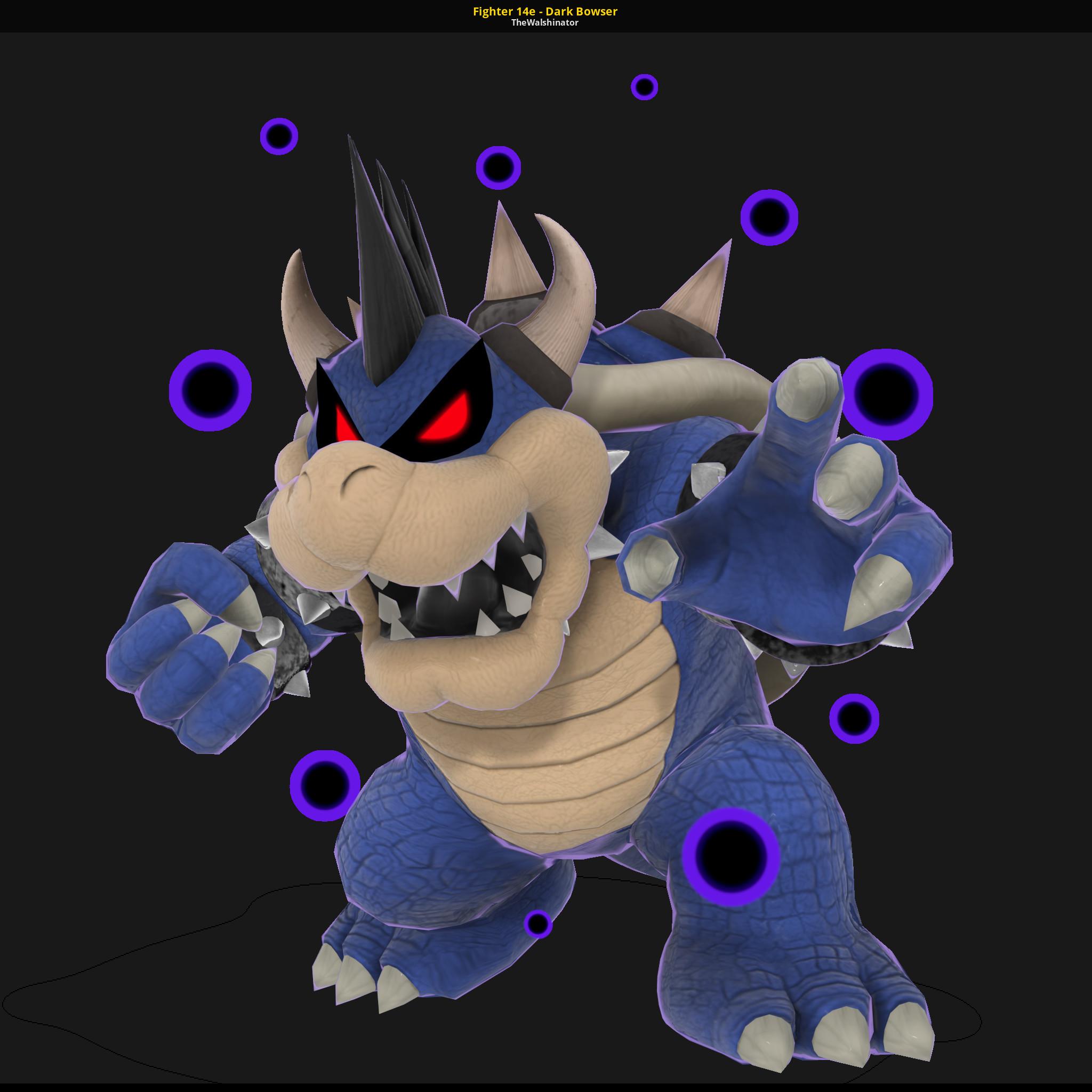 Fighter 14e Dark Bowser Super Smash Bros Ultimate Works In