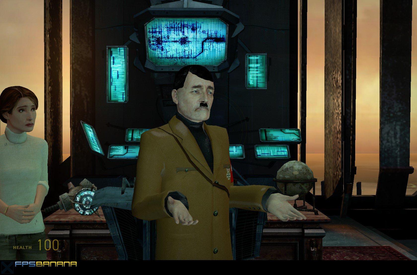 Hitler for Breen [Half-Life 2] [Mods]