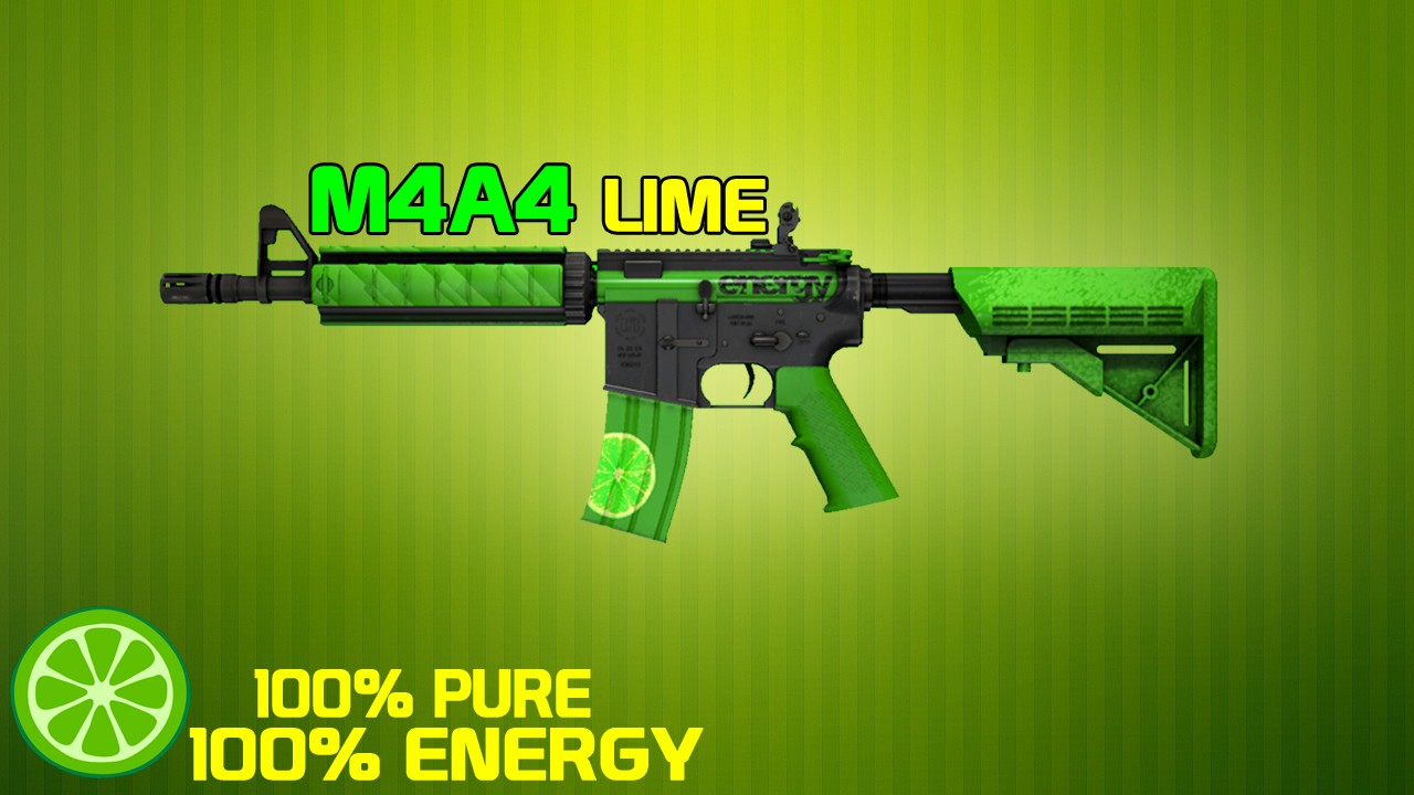 Green M4a4 Skin