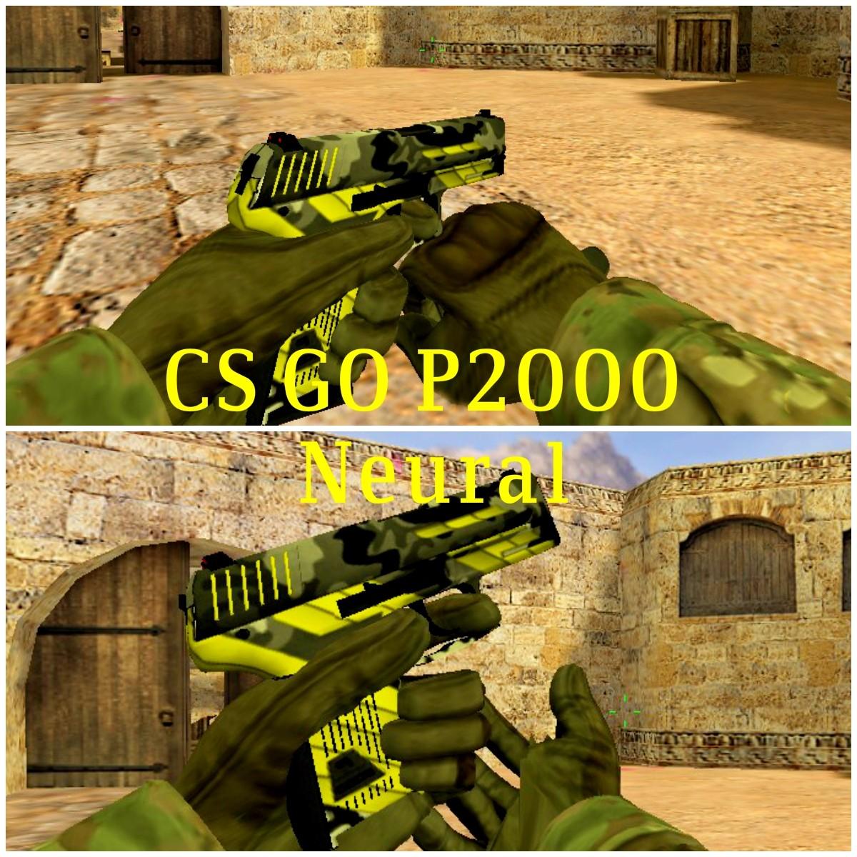 CSGO P20 Neural for CS 20.20 [Counter Strike 20.20] [Mods]
