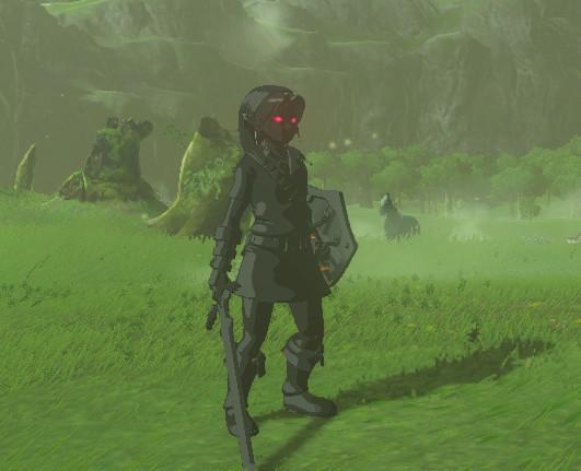 Dark Link Armor Botw